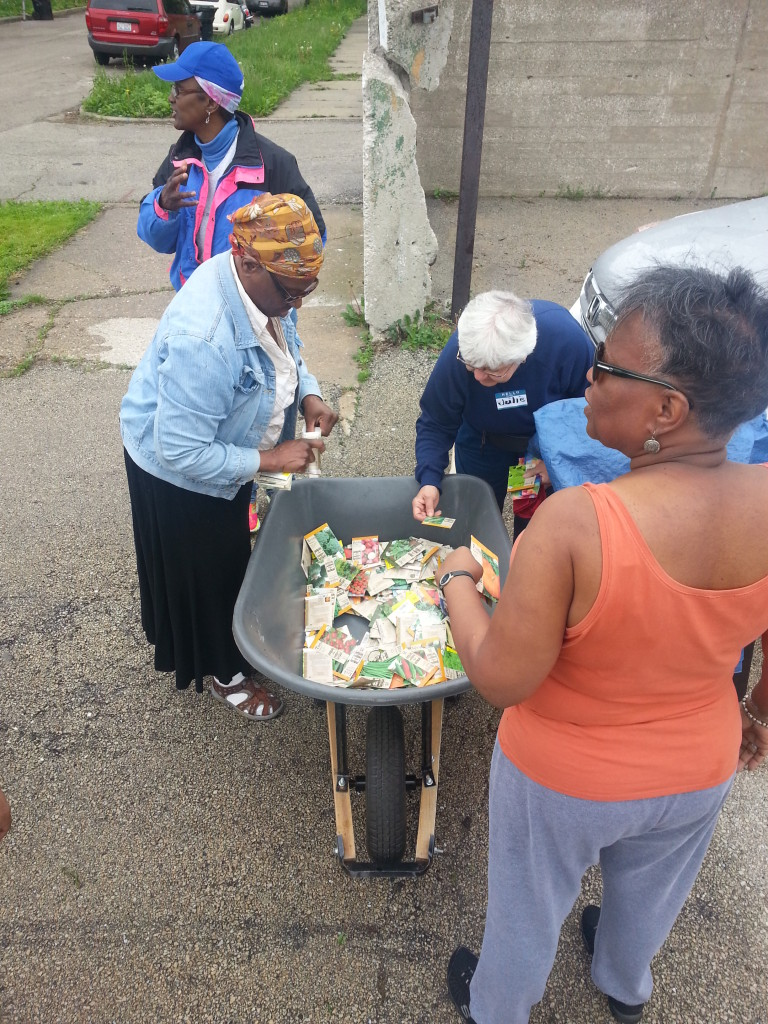CCGA Seedling Distribution, Embassy Church, 5/16/15