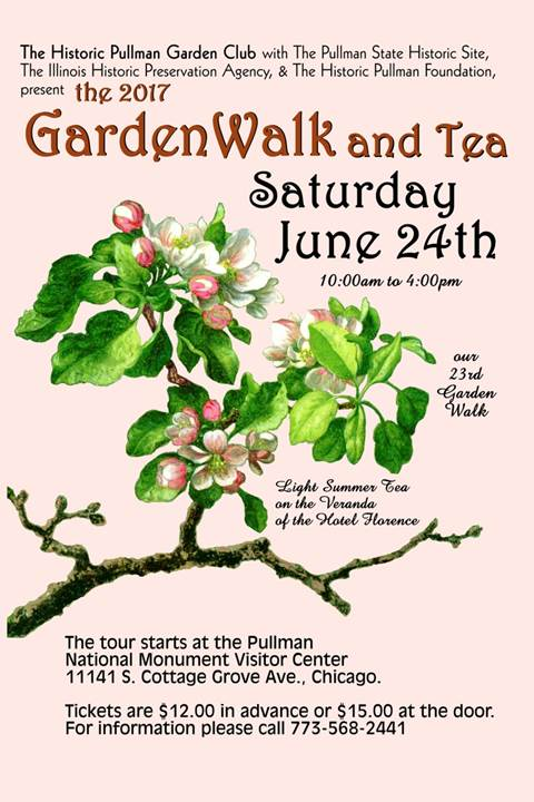 23rd Annual Pullman Garden Walk Flyer