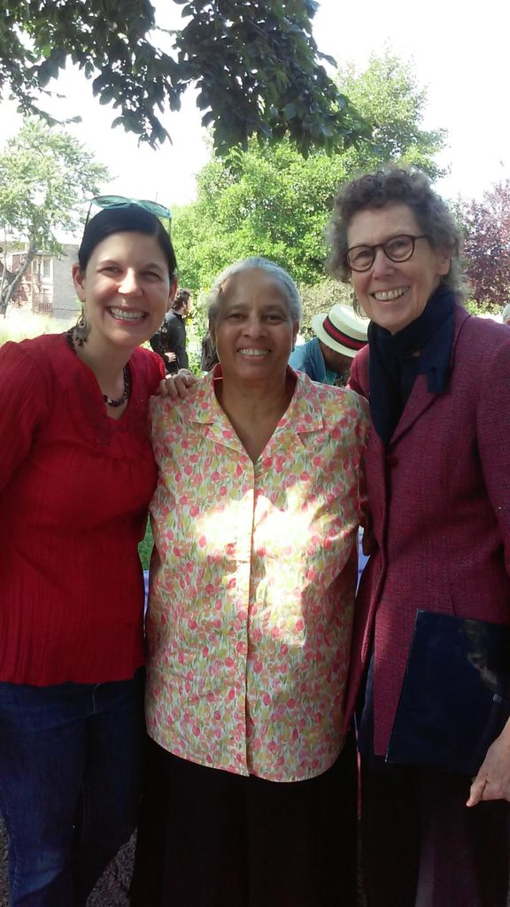 New Horizons organizers from left Celeste Groff, Erma Purnell and Joan Gerig