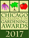 Chicago Excellence in Gardening Awards Logo