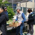 May 6th Distribution more folks at the herb table