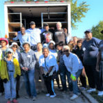 CCGA Resources Volunteers at 9-29 distribution