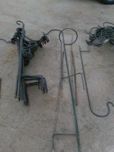 Ornamental Shepherd's Hooks for sale 5/14/16