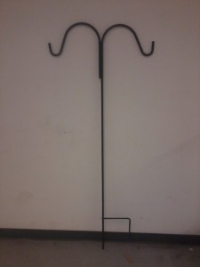Double Hook wrought iron