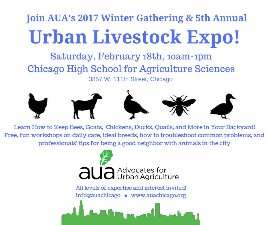 5th Annual Urban Livestock Expo!