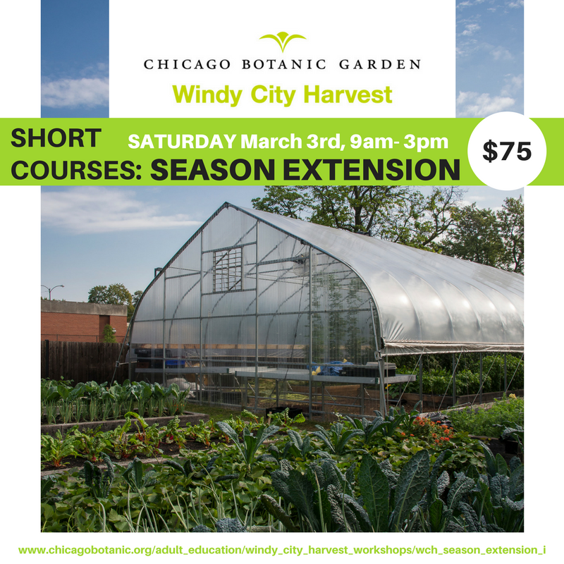 Windy City Harvest Season Extension Workshop Flyer